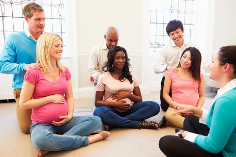 Qué son las clases de preparación al parto