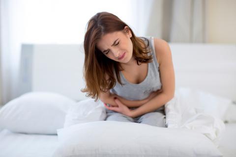 Chica con síntomas de colitis ulcerosa