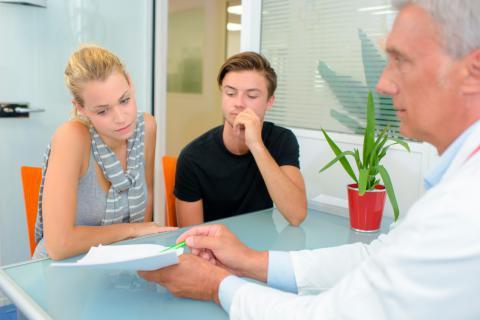 Consulta genética prenatal