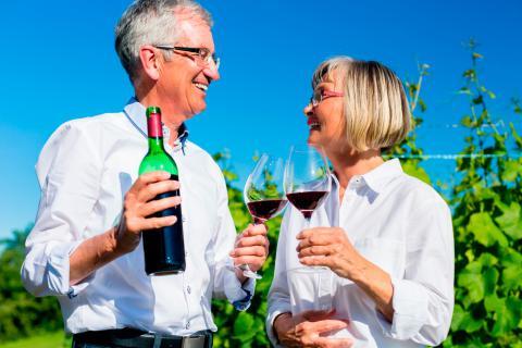 Enoturismo, motivos para disfrutar del vino en la tercera edad