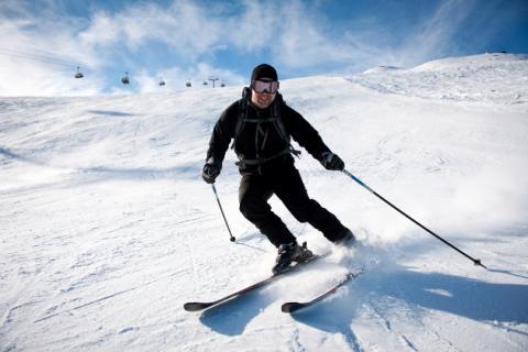 Lesiones típicas del esquí