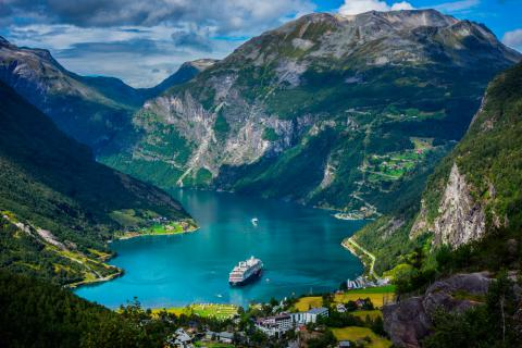 Paisaje de Noruega