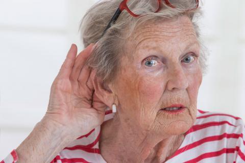 Problemas de oído en los mayores