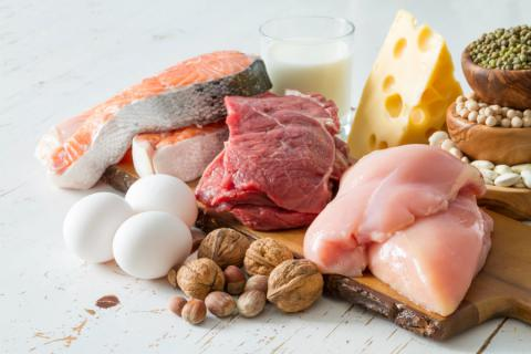 High Protein And Carbohydrate Food