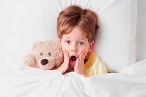 Niño sufre terror nocturno