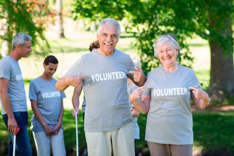 Ser voluntario en la tercera edad