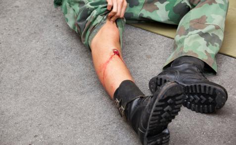 Primeros auxilios con heridas de bala