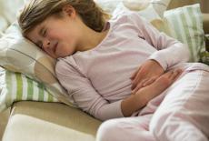Niño con gastroenteritis aguda