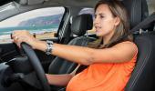 El embarazo aumenta el riesgo de accidente de tráfico