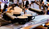 Café de máquina a la italiana