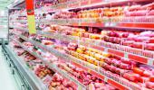 Carne roja en un supermercado