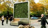 CityTree, el árbol artificial que absorbe la contaminación urbana