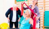 El ejercicio ayuda a mayores con movilidad reducida