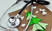 Hospital en Navidad