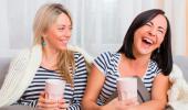 Chicas riéndose