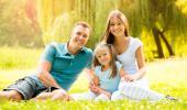 Familia con hijo único