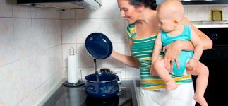 Menús para una madre lactante: comidas para cubrir tus necesidades
