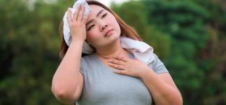 La obesidad empeora los sofocos y otros síntomas de la menopausia