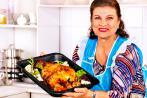 Mujer posmenopáusica abusa de comer carne