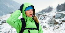 Mujer en la montaña