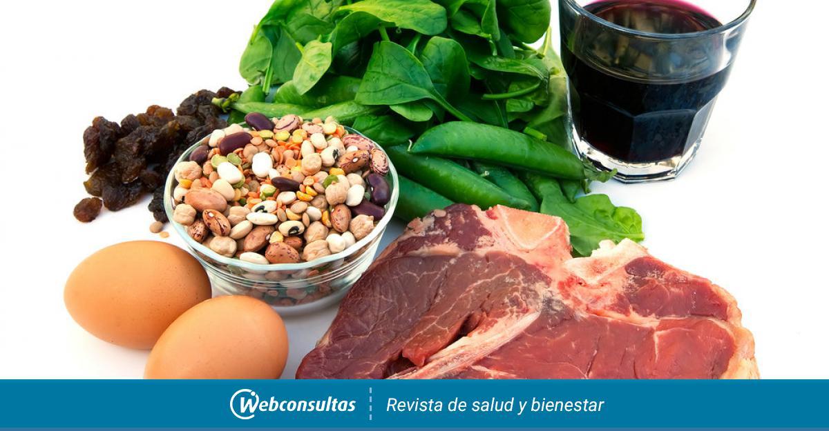 Dieta baja de hierro