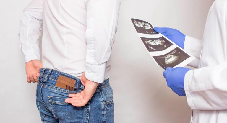 A prostatitis esetén a has alja fájt