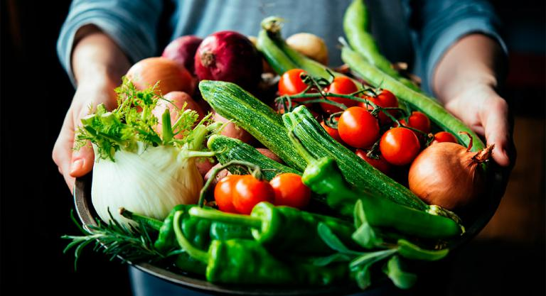 Verduras para hacer cremas