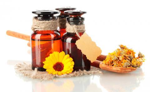 Frascos de caléndula: beneficios y propiedades
