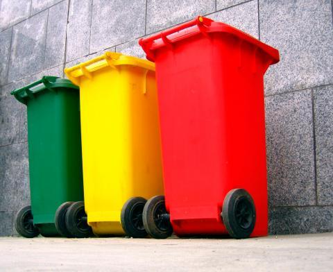 Colores En Contenedor Los Residuos Cada Van El ReciclajeQué VqUGpSzM