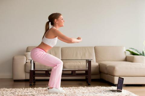 Los Mejores Ejercicios Para Endurecer Los Glúteos En Casa