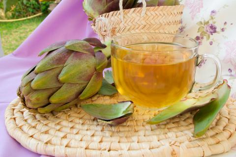 remedio natural de alcachofa