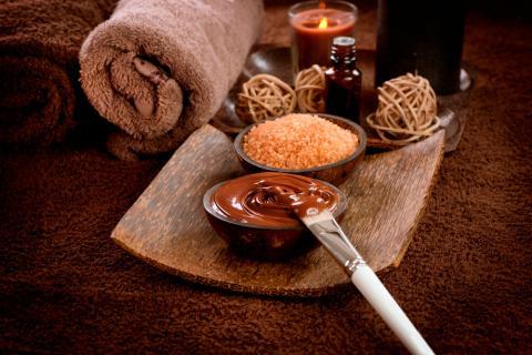 Productos de belleza caseros a base de cacao