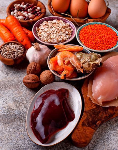 Cinc, qué es, funciones y fuentes alimentarias - Nutrientes