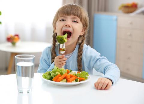Dieta vegetariana en niños: claves para que sea saludable