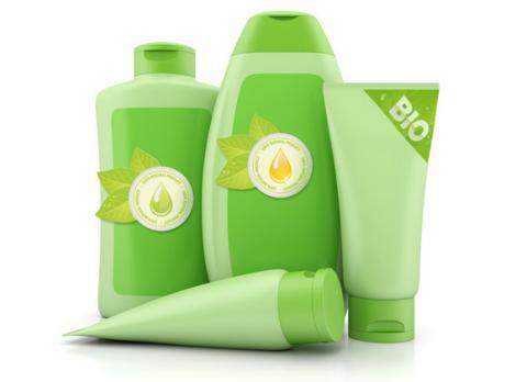 Set de productos de cosmética ecológicos