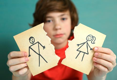 Resultado de imagen de divorcio hijos