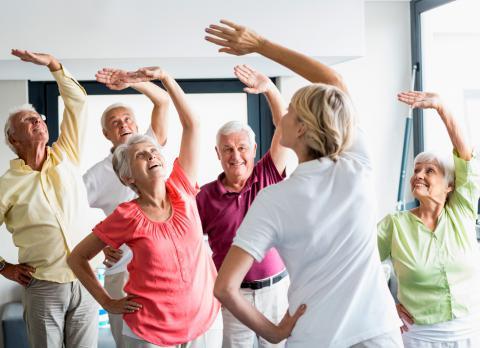 Guía de ejercicio en la tercera edad: actividades recomendadas