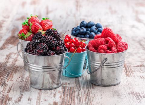 Frutos rojos o del bosque: qué son, tipos, consumo, conservación