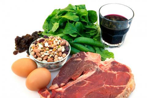alimentos que son buenos para la anemia