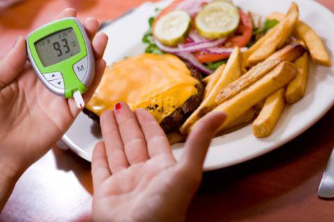 Una dieta balanceada para un diabetico