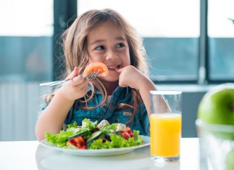 que es un nutricionista infantil