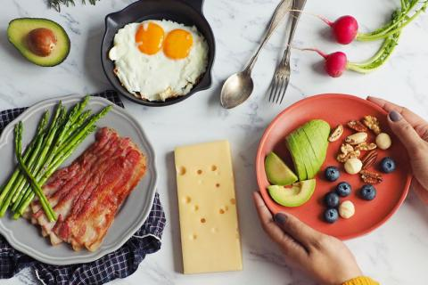 La dieta keto puede alterar la microbiota del intestino