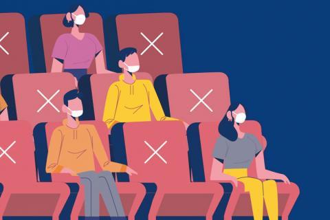 Medidas de higiene para volver a los cines con seguridad