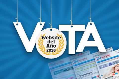 Webconsultas nominada al premio Website de Salud 2016