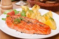 Embarazo saludable y salmón